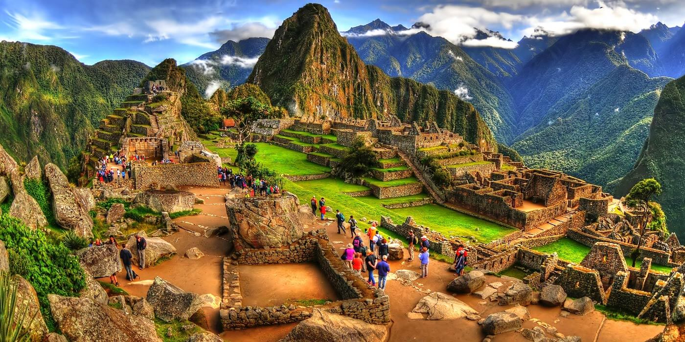 Land Lost in Time Machu Picchu